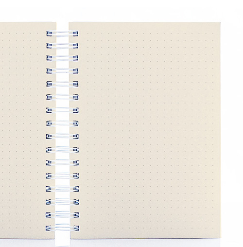 Folhas Pontilhadas (papel polén 80g)