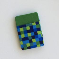 CARTEIRA MÁGICA – Pixel (Verde) – PRONTA ENTREGA