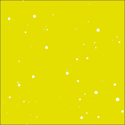 Super Poderosa amarelo – pingos brancos