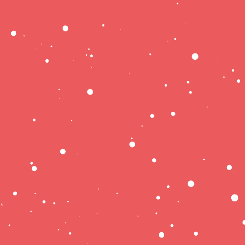Super Poderosa rosa – pingos brancos