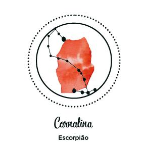 ESCORPIÃO – CORNALINA