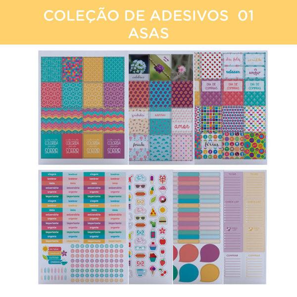 COLEÇÃO DE ADESIVOS 01 – ASAS-09
