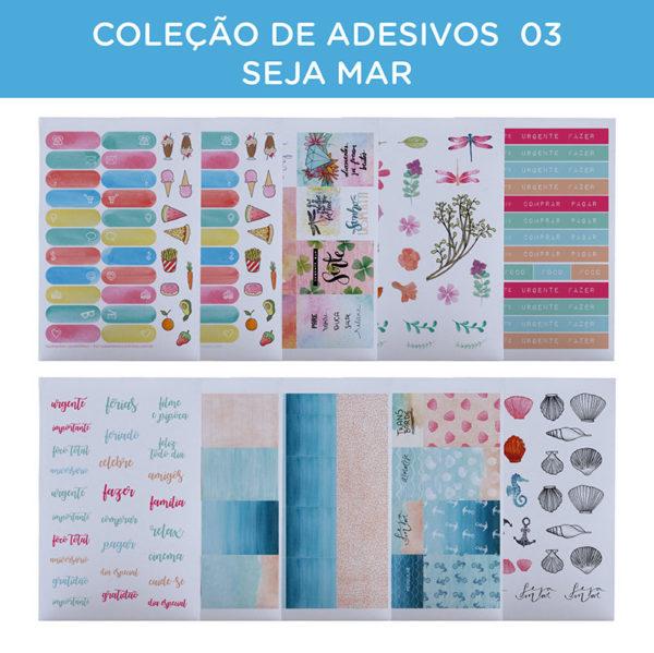 COLEÇÃO DE ADESIVOS 03 – SEJA MAR-31