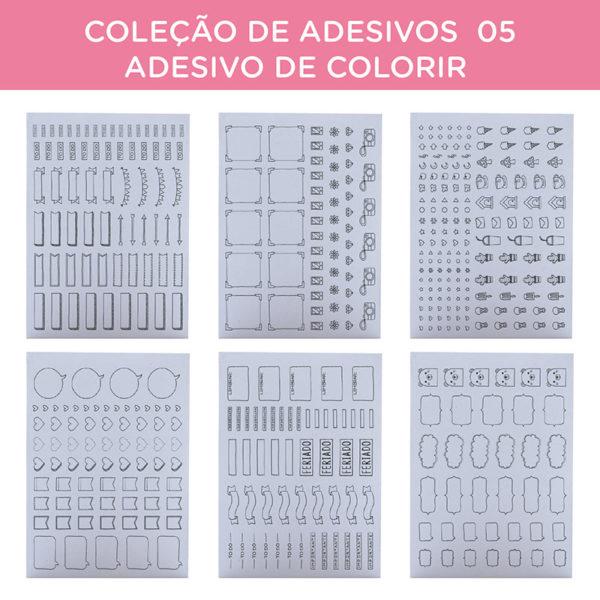 COLEÇÃO DE ADESIVOS 05 – ADESIVO DE COLORIR-38